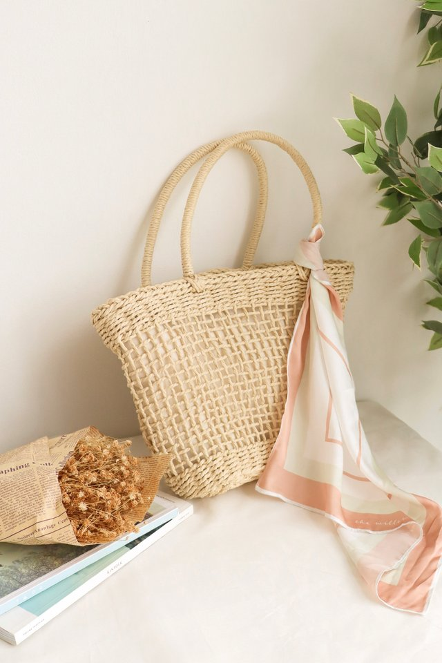 THE FRENCH BASKET BAG NATURAL